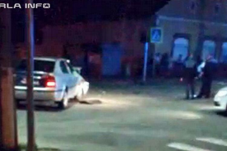 Șofer băut la volan, prins la Gherla după ce a cauzat un accident rutier. A fost urmărit de poliție în trafic