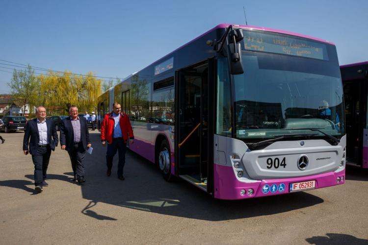 Ce mijloace de transport noi primeste Compania de Transport Public Cluj