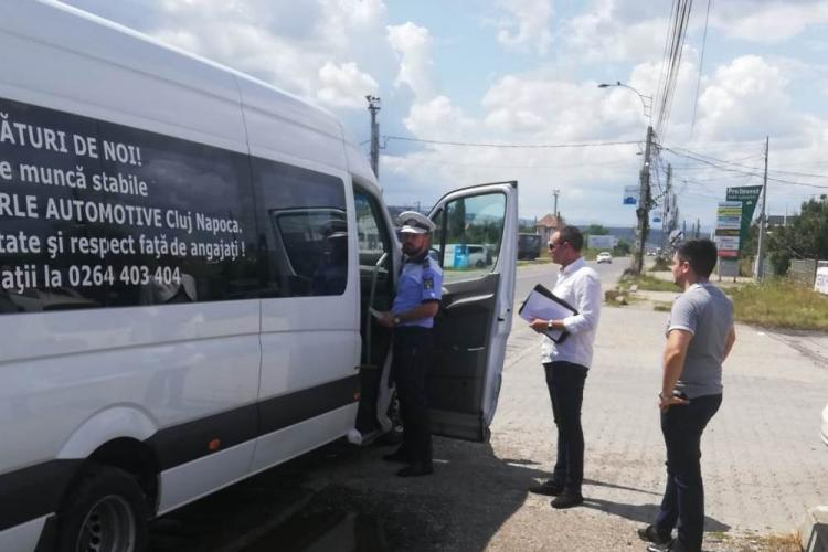 "Razie pentru a-i prinde pe ""pirații rutieri"" din Cluj. Câte amenzi au dat polițiștii FOTO"