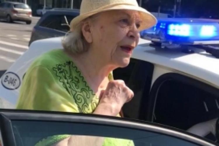 Bătrână de 81 de ani AMENDATĂ de poliție pentru că merge prea încet - VIDEO