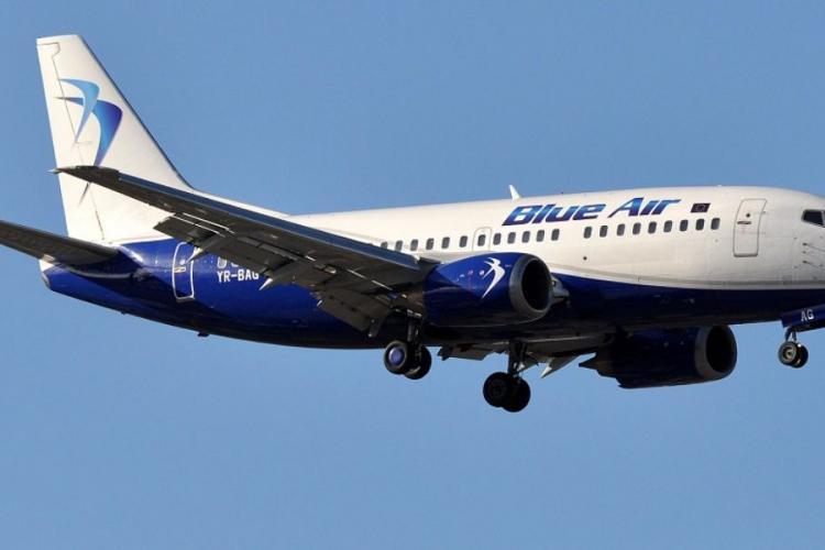 Avion Blue Air pe cursa Cluj-Napoca - Constanța s-a întors la Cluj: Am fost mințiți