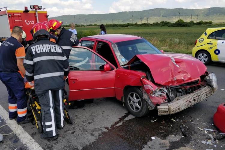 Accident cu două victime la Bonțida, cauzat de un șofer de aproape 80 de ani FOTO