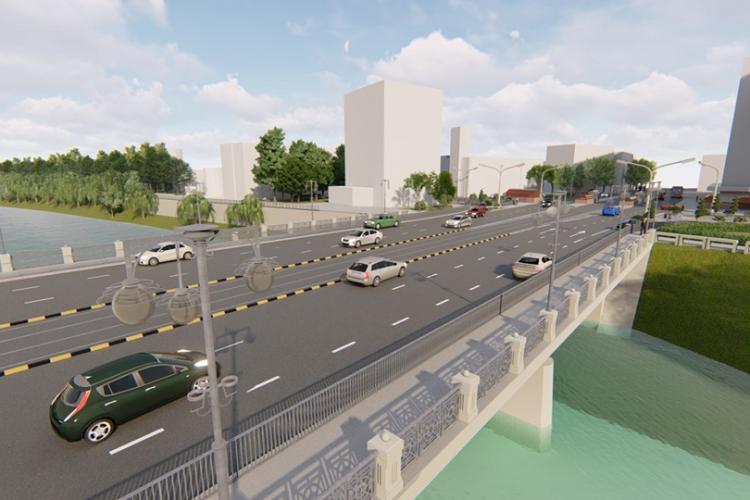 Oradea face pod cu 6 benzi, Clujul de 6 ani se chinuie cu Podul Garibaldi - FOTO