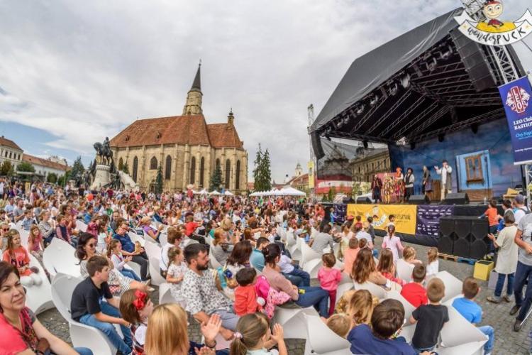 WonderPuck 2019: Festivalul aduce circ, acrobație și spectacole în Cluj-Napoca și la Castelul Banffy