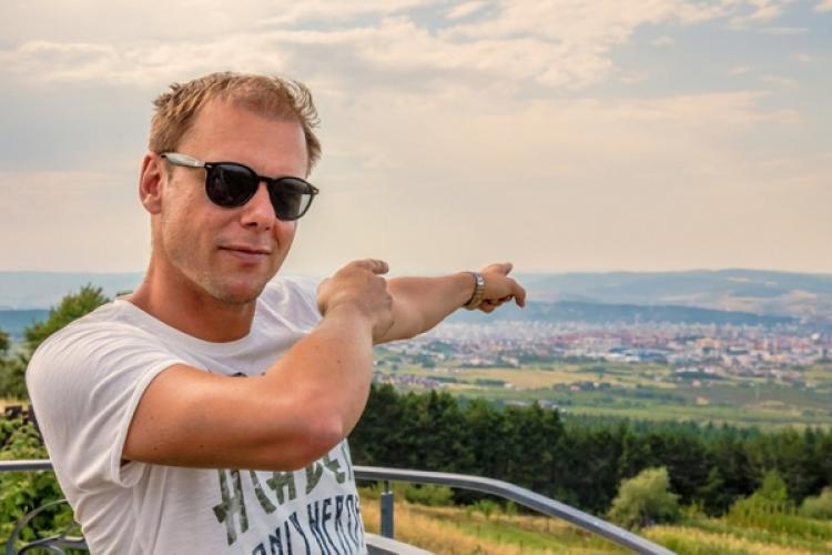 Armin van Buuren filmează un nou videoclip la Cluj. Caută oameni care să apară în clip