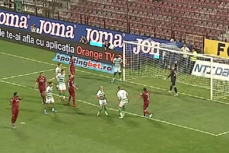 CFR Cluj - Celtic: 1-1. Dan Petrescu e mândru / REZUMAT VIDEO