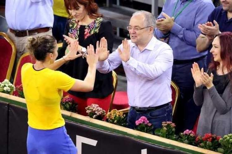 Boc s-a dus să o vadă pe Simona Halep la Wimbledon: O aducem la Cluj