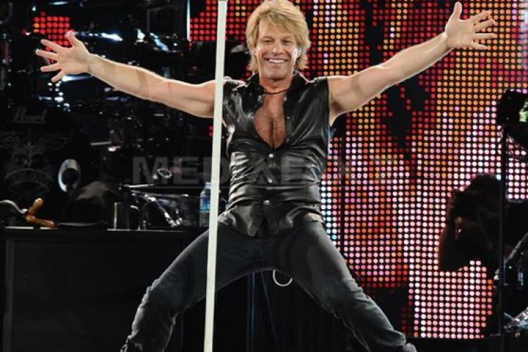 Bon Jovi și-a cerut scuze după concertul din București: Îmi pare rău
