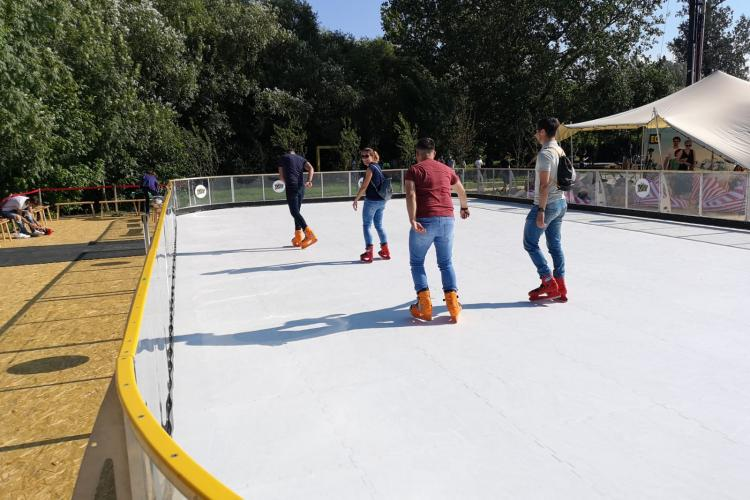 Ce noutăți sunt la Electric Castle 2019. Cum arată patinoarul care nu se topește - FOTO
