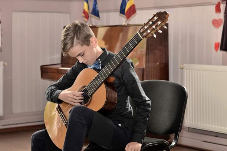 Tudor TORGE - clujeanul cu premiul I la cel mai longeviv festival de chitară clasică din Europa