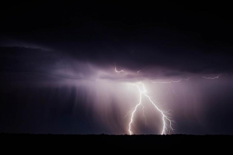 COD GALBEN de furtuni și vijelii la Cluj! Care sunt zonele afectate