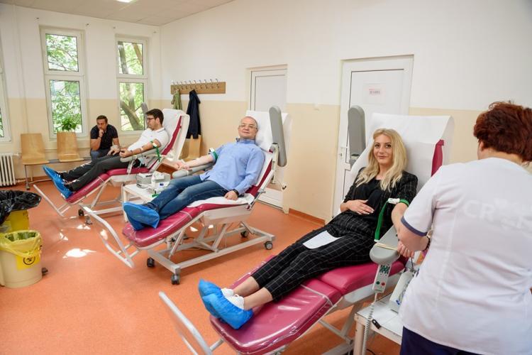 Angajații Primăriei Cluj-Napoca au donat din nou sânge. Unde puteți dona