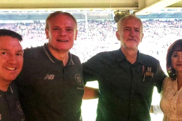 Liderul Opoziției din Marea Britanie, Jeremy Corbyn, a primit bilete prin gard la meciul CFR Cluj - Celtic