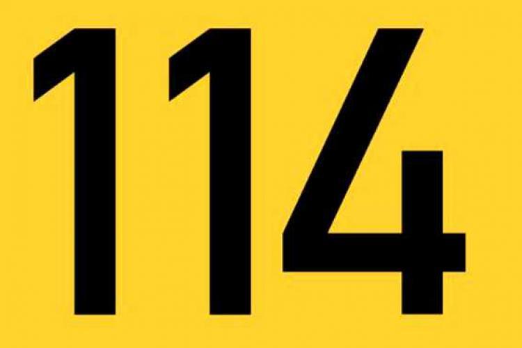 Numărul de urgență 114. Ce diferență este între 112 și 114
