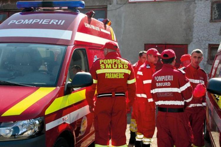 MINUNE la Cluj. Copil de patru ani a căzut de la etajul 3 al unui bloc și nu a pățit nimic