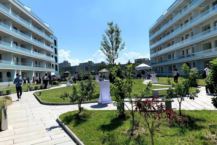 Studium Green a prezentat West Side Park, ansamblul imobiliar cu cele mai mari terase verzi din Transilvania și prima fațadă inteligentă fotocatalitică