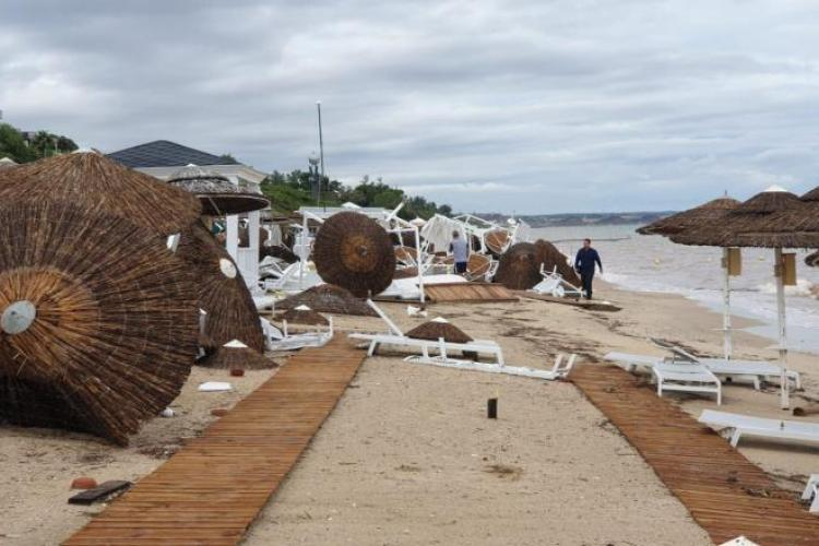 Românii morți în furtuna din Halkidiki, Grecia, sunt din Cluj-Napoca