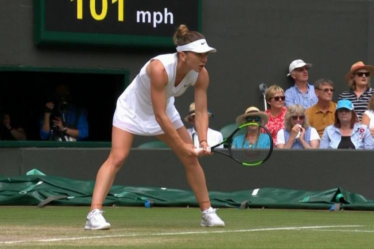 Simona Halep s-a calificat în finala de la Wimbledon! A învins-o fără drept de apel pe Svitolina