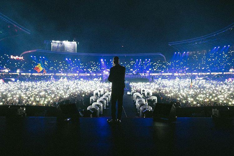 Lui Robbie Williams i-a plăcut la Cluj - FOTO
