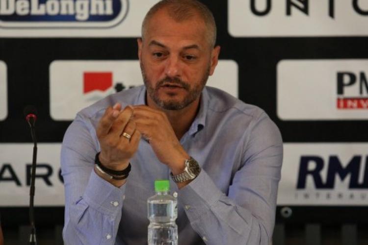 Dulca, antrenorul U Cluj e realist: Când pierzi cu o nou-promovată nu poți zice că lupți pentru Liga 1