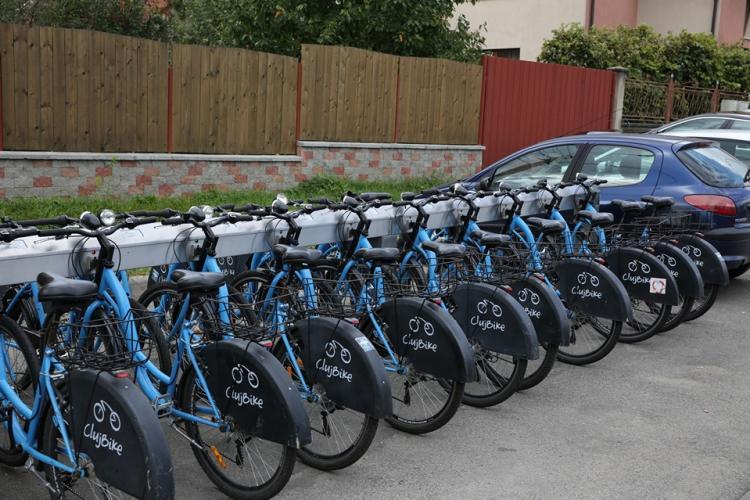 Primăria Cluj-Napoca eliberează 3.500 de carduri noi de utilizator pentru sistemul de bike sharing