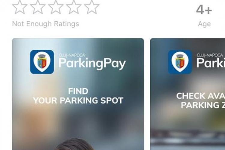Aplicație dedicată pentru plata parcărilor la Cluj-Napoca. Cum funcționează