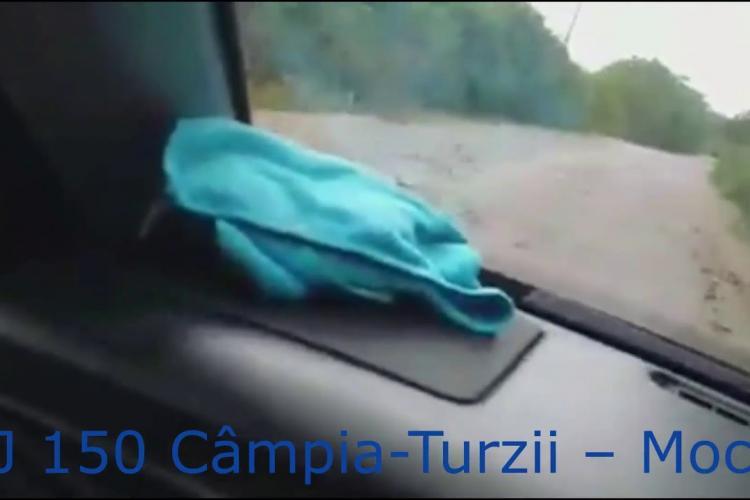 Drumul Județean 150, distrugătorul de maşini pentru clujenii din Câmpia Turzii - Viişoara - Ceanu Mare - Frata - Mociu