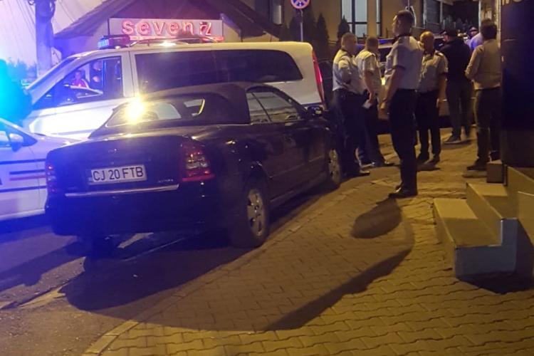 Cluj-Napoca: Amenințare în trafic cu armă. Autorii au fost mascați - FOTO