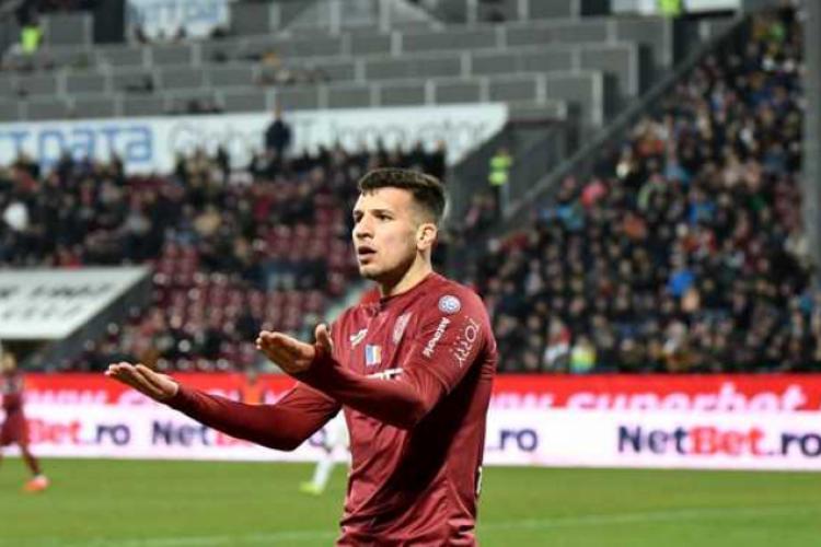 Atacantul CFR Cluj, George Țucudean, se retrage temporar din fotbal