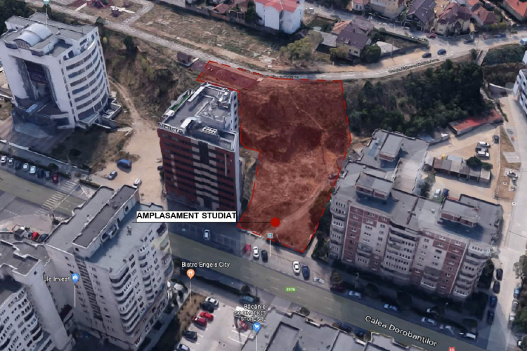 Arhitecții de la Bogart Construct S.R.L. vor să înghesuie alte clădiri între blocurile cu 10 etaje din Mărăști