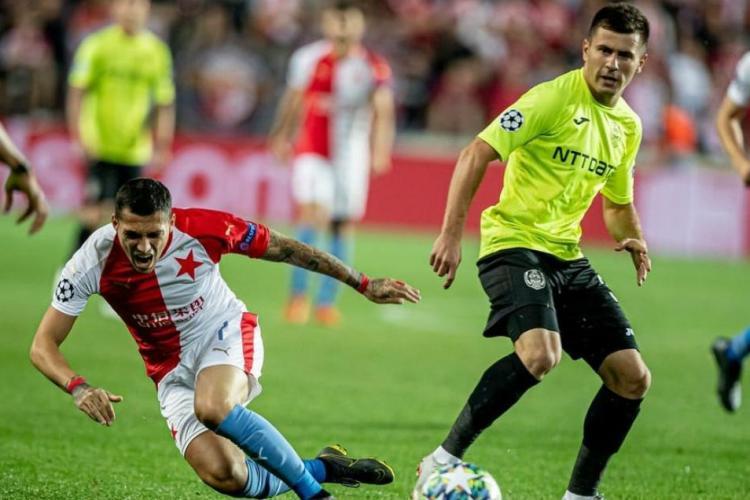CFR Cluj a ratat calificarea în Champions League, după înfrângerea de la Praga. Ce spune Dan Petrescu despre rezultat