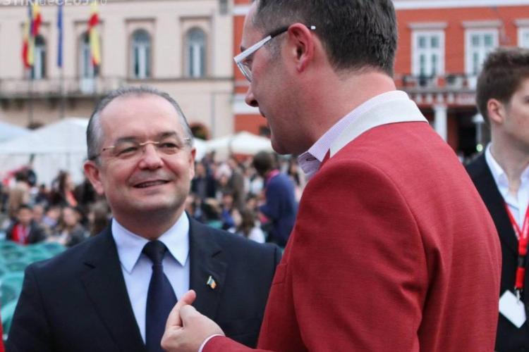 Tudor Giurgiu s-a supărat că TIFF -ul nu apare în filmul de prezentare a Clujului - VIDEO
