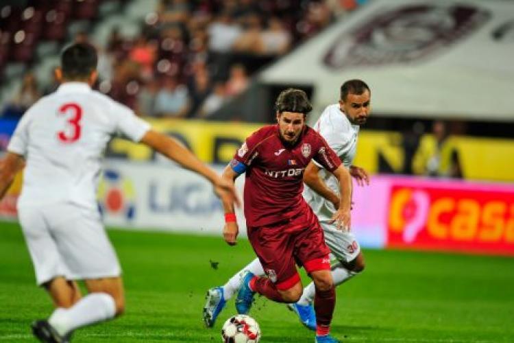 Astra Giurgiu a învins CFR Cluj, 3-2. Clujenii au fost defavorizați de arbitri