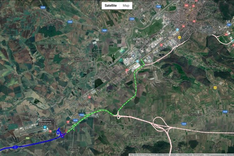 Autostrada Transilvania se loveste iarăși de incompetența CNAIR. Tronson blocat