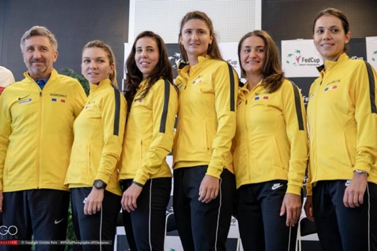 Simona Halep va juca la Cluj-Napoca în Fed Cup, în meciul România - Rusia