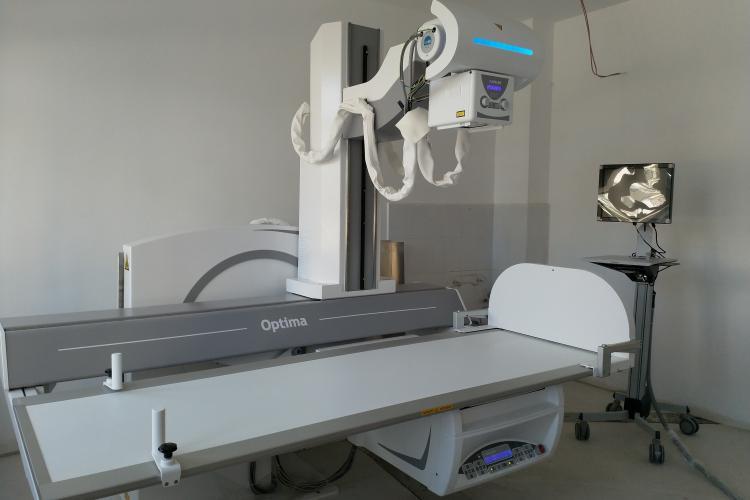Spitalul de Recuperare Cluj-Napoca are un nou echipament medical ultraperformant, pentru radioscopie digitală FOTO