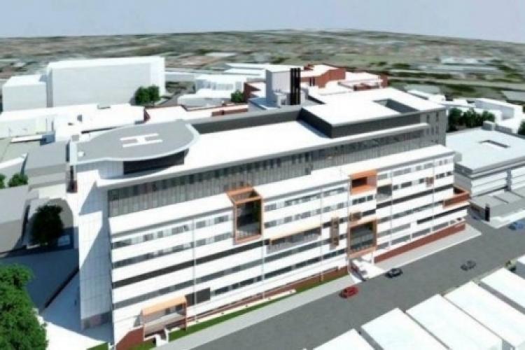 2,5 miliarde de lei alocați pentru Spitalul Regional de Urgenţă din Cluj! Va fi dotat cu cea mai modernă aparatură medicală şi cu heliport