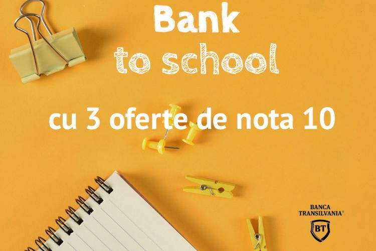 Back to school de la Banca Transilvania: Împrumuturi cu discount şi puncte STAR cadou pe cardul de cumpărături