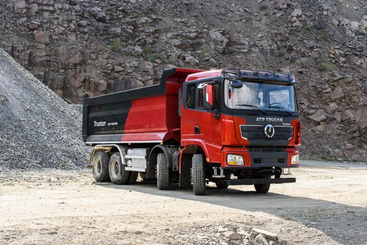 Un camion produs în Maramureș a intrat pe piață. ATP Trucks Automobile a lansat Truston în România - FOTO