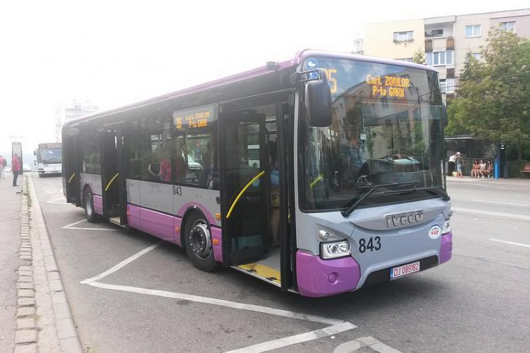 Linie de autobuz între Gheorgheni și Zorilor