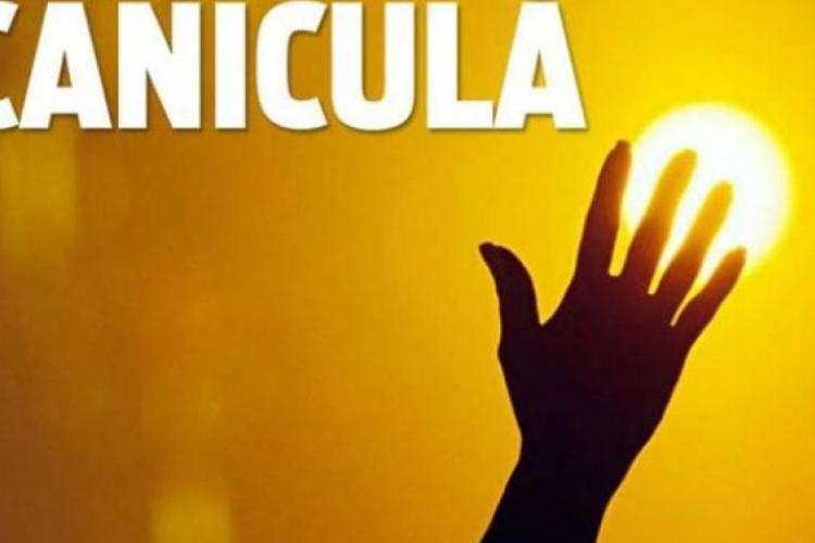Alertă meteo de caniculă transmisă de ISU Cluj