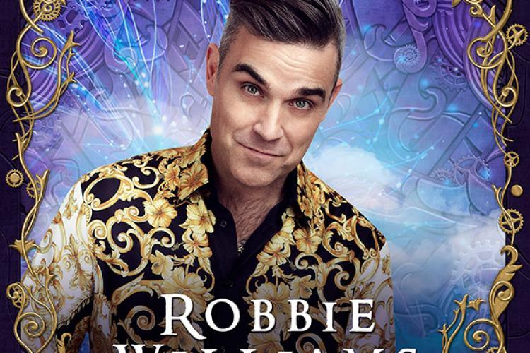 Robbie Williams a făcut vlogging la UNTOLD. Cum arăta în backstage și cum s-a distrat artistul la festival VIDEO