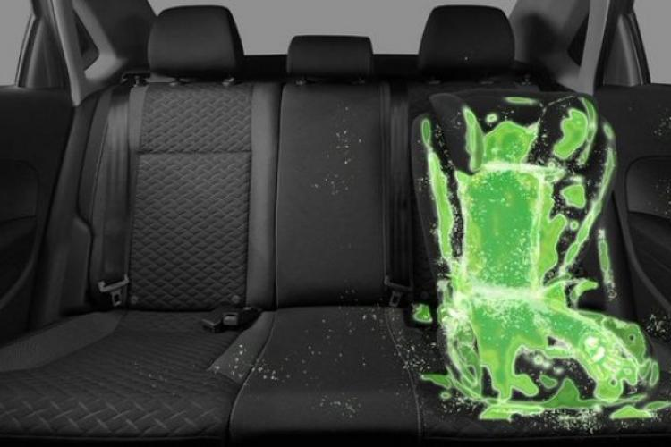 Cât de curat este scaunul copilului din mașina ta