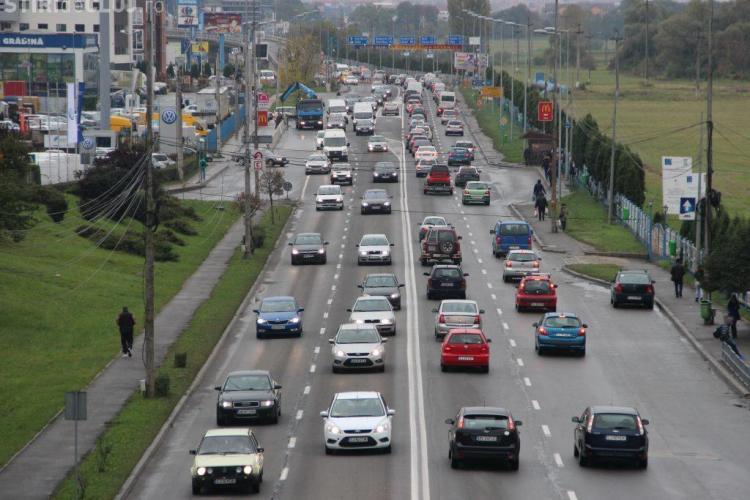 Benzi dedicate de transport Florești - Cluj-Napoca, pe DN 1