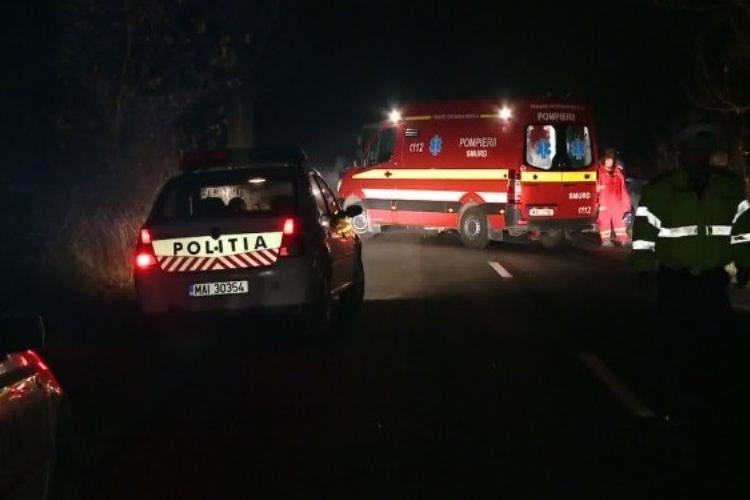 Accident în Jucu, la kilometrul 17