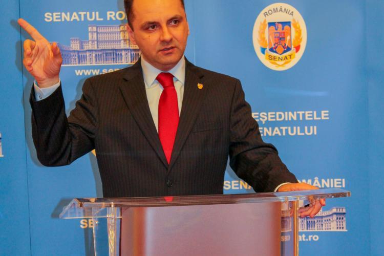 """Senatorul Vasile-Cristian Lungu cere """"oprirea experimentelor pe clujeni""""!"""