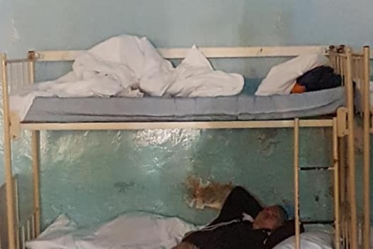 IMAGINI HORROR de la Spitalul de Boli Psihice Borșa, județul Cluj