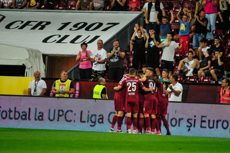 Cât costă biletele la meciul CFR Cluj – Slavia Praga