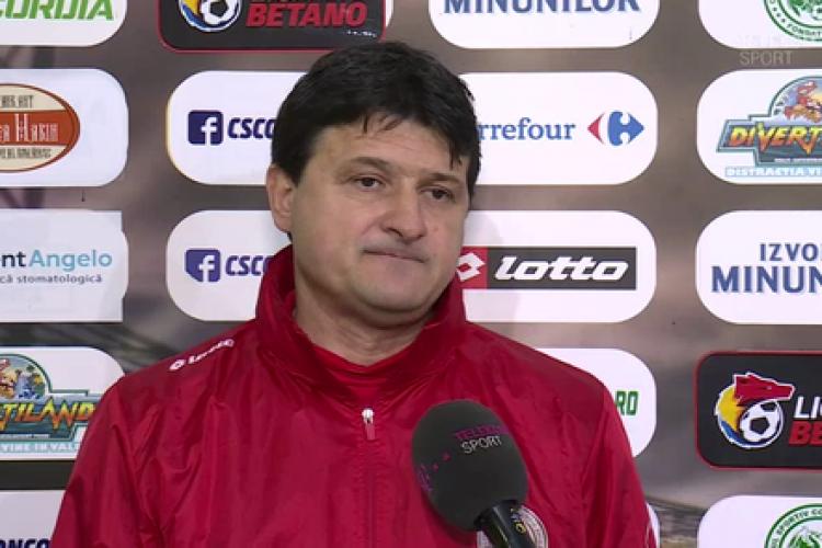 Falub e noul antrenor al U Cluj