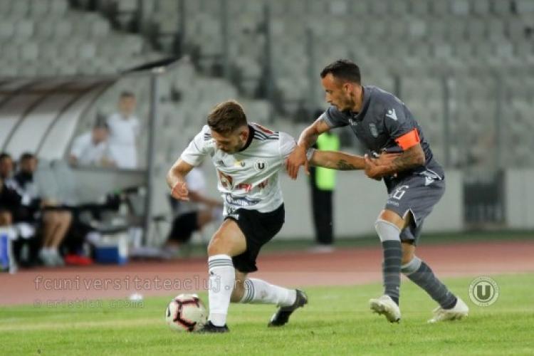 U Cluj învinsă de Metaloglobus. U Cluj are o victorie din 5 meciuri